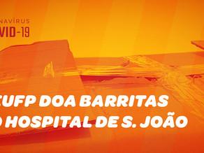 AEUFP em ação solidária a favor do Hospital S. João