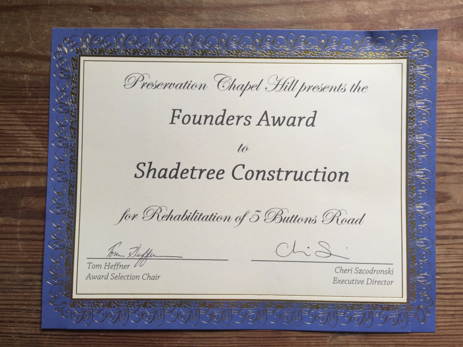 Shadetree Construction