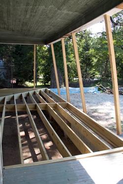 Franklin St. porch progress