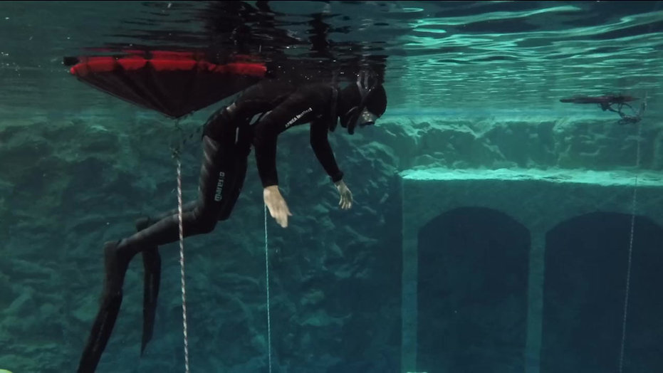 Dive4Life - Depth Session Example