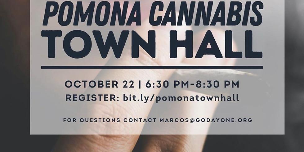 Pomona Cannabis Town Hall