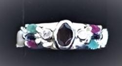Repurposed colored stone Ring.JPG