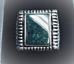 Silver Mens square bezel ring.JPG