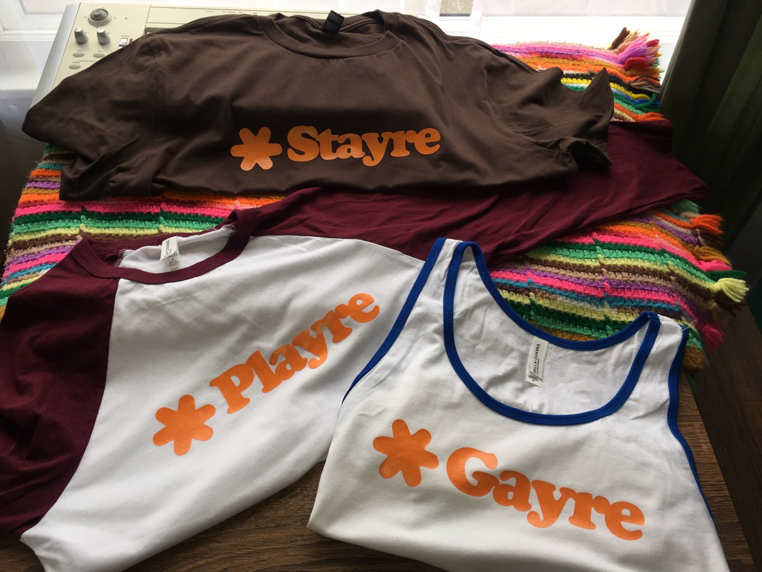 Stayre Playre Gayre T-Shirts