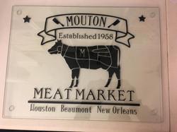 Meat Market Cutting board