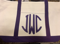 Monogram Canvas Bag