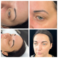 Correrection of old microblading