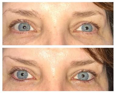 Permanent eyeliner in brown😍 #daytonbro