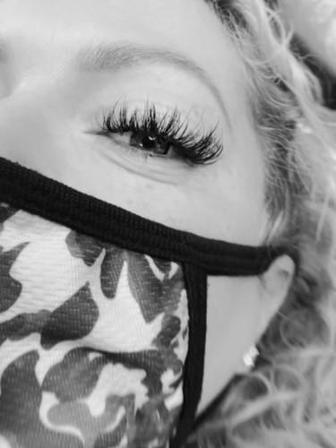 Whispy volume lashes