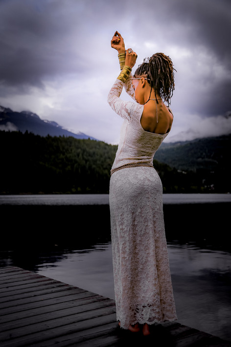 Though married / her cuffs keep her bound / always to her goddess. They are profound / And yet, she stays modest