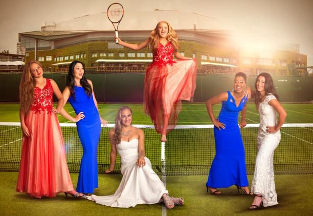 Makeup for the Beautiful Tennis Ladies