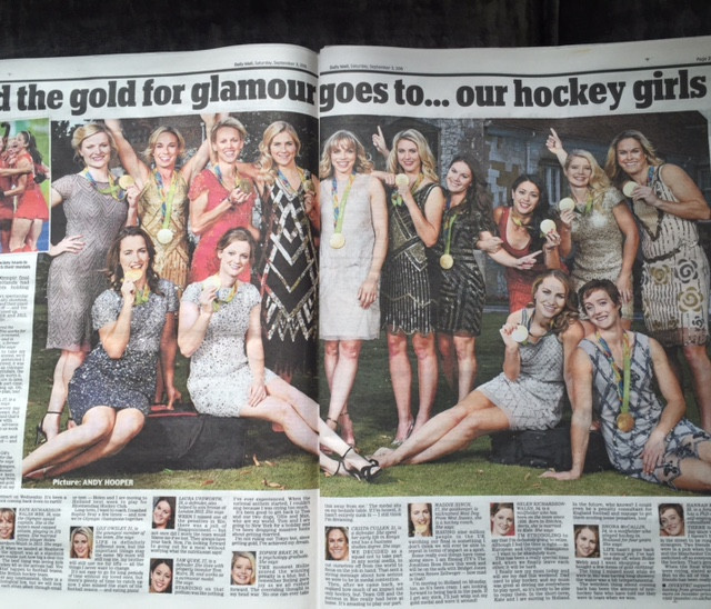 Our Gorgeous Gold Winning Hockey Girls