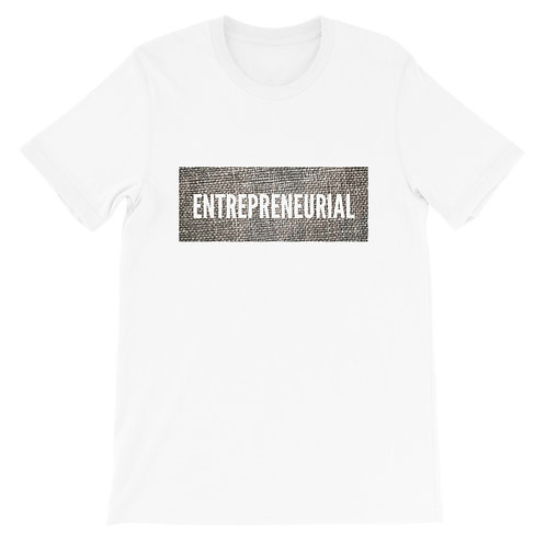 """Entrepreneurial"" Short-Sleeve Unisex T-Shirt"
