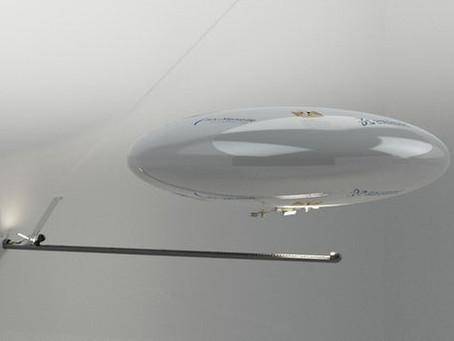 Micro-Drone à dirigeable pour explorer des lieux cachés avec  impact minimal