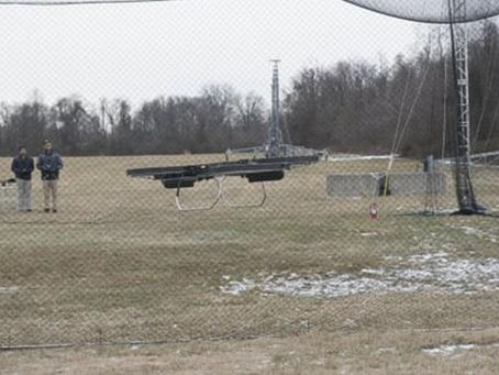 La motoplane de l'armée américaine prend son envol