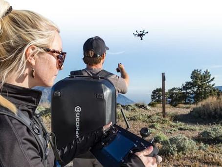 Le Drone Typhoon H utilise la technologie 3D d'Intel pour voler sans risque de collision.