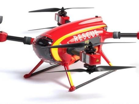 Un drone sauveteur sauve un nageur en Espagne