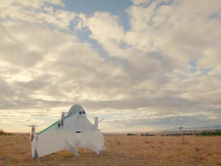 L'US.Gov. donne à Google le feu vert pour tester ses drones de livraison aux États-Unis