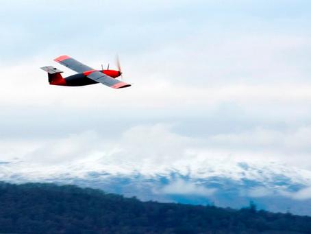 Un Drone alimenté par des granulés produisant de l'hydrogène prend son envol en Ecosse
