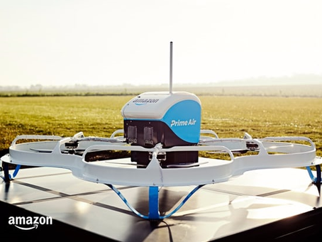 C'est le décollage du service de livraison par Drone d'Amazon
