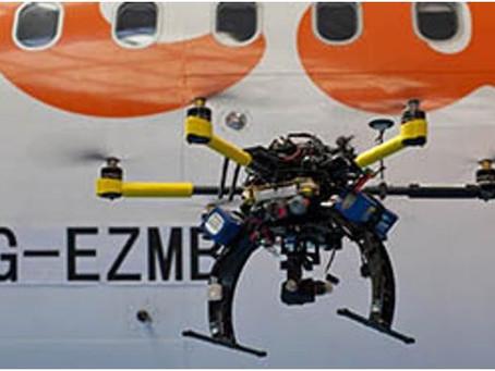 Easy jet utilise des Drones pour inspecter ses Avions