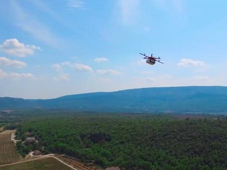 Le gouvernement français donne son feu vert à DPD pour un service de livraison par drone
