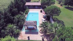 Hotel Piscine Photo Aérienne