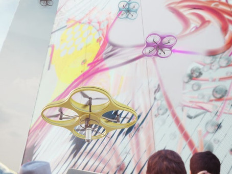 Peinture par Drone : la conception collaborative arrive sur nos murs !