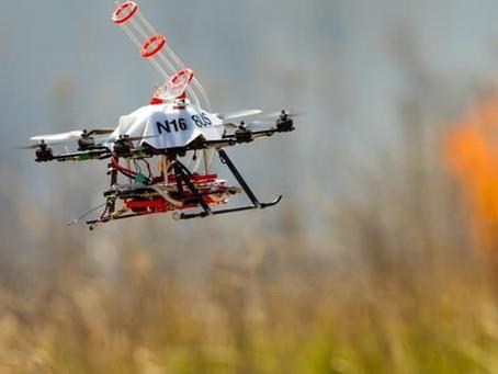Un Drone utilisé pour Contrôler les feux dans un Parc National