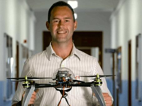 Des drones détectent les fuites de produits chimiques sur des mines terrestres.