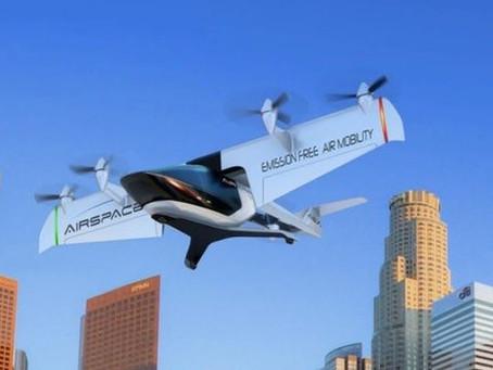 Le taxi aérien électrique autonome d'AirSpaceX atterrit à Detroit