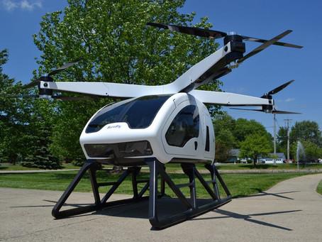 La Workhorse Surefly est une voiture volante à deux places