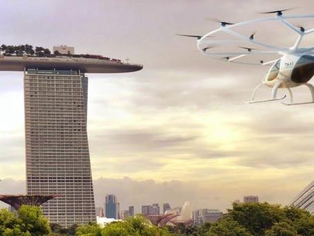 Le taxi volant Volocopter s'installe à Singapour