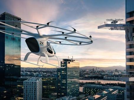 Daimler investit dans le taxi Volocopter de E-volo