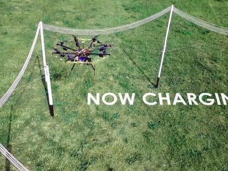La charge en vol donne aux drones une autonomie illimitée