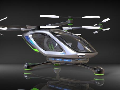 La Vision de la Voiture Volante électrique par David Mayman et Jetpack Aviation