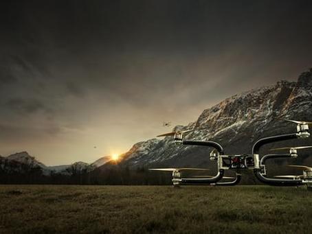 Le drone Griff 300 pourrait transporter une personne