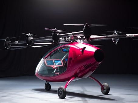 Le Passenger Drone autonome de DELCO se lance sur le marché du Taxi Volant
