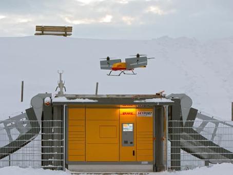 DHL utilise un système totalement autonome pour fournir des biens de consommation par drone