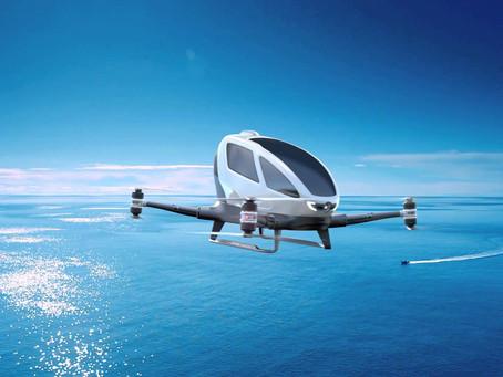 Le Drone Taxi EHANG 184 va prendre les airs à Dubai