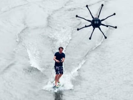 Le DroneSurfing sera-t-il la nouvelle mode en Sports Nautiques ?