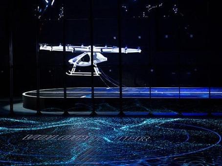 Le taxi volant Volocopter décolle sur scène au CES
