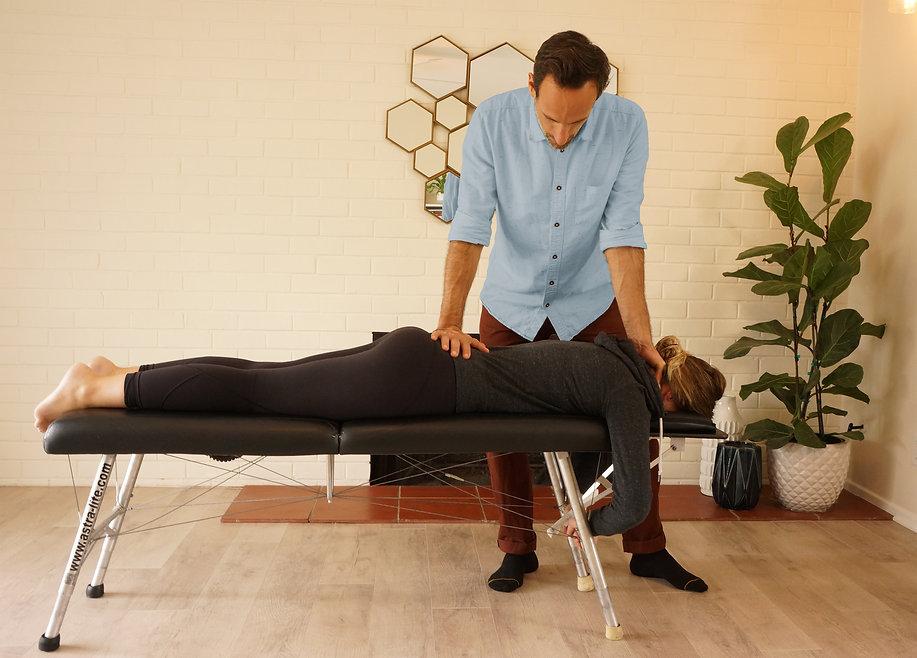 Best Chiropractor in Santa Barbara gentle adjustment