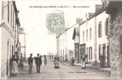Rue principale de Saint-André