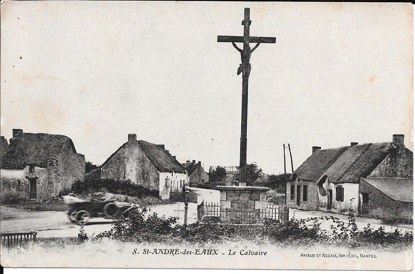 Saint_André_des_Eaux_Le_calvaire