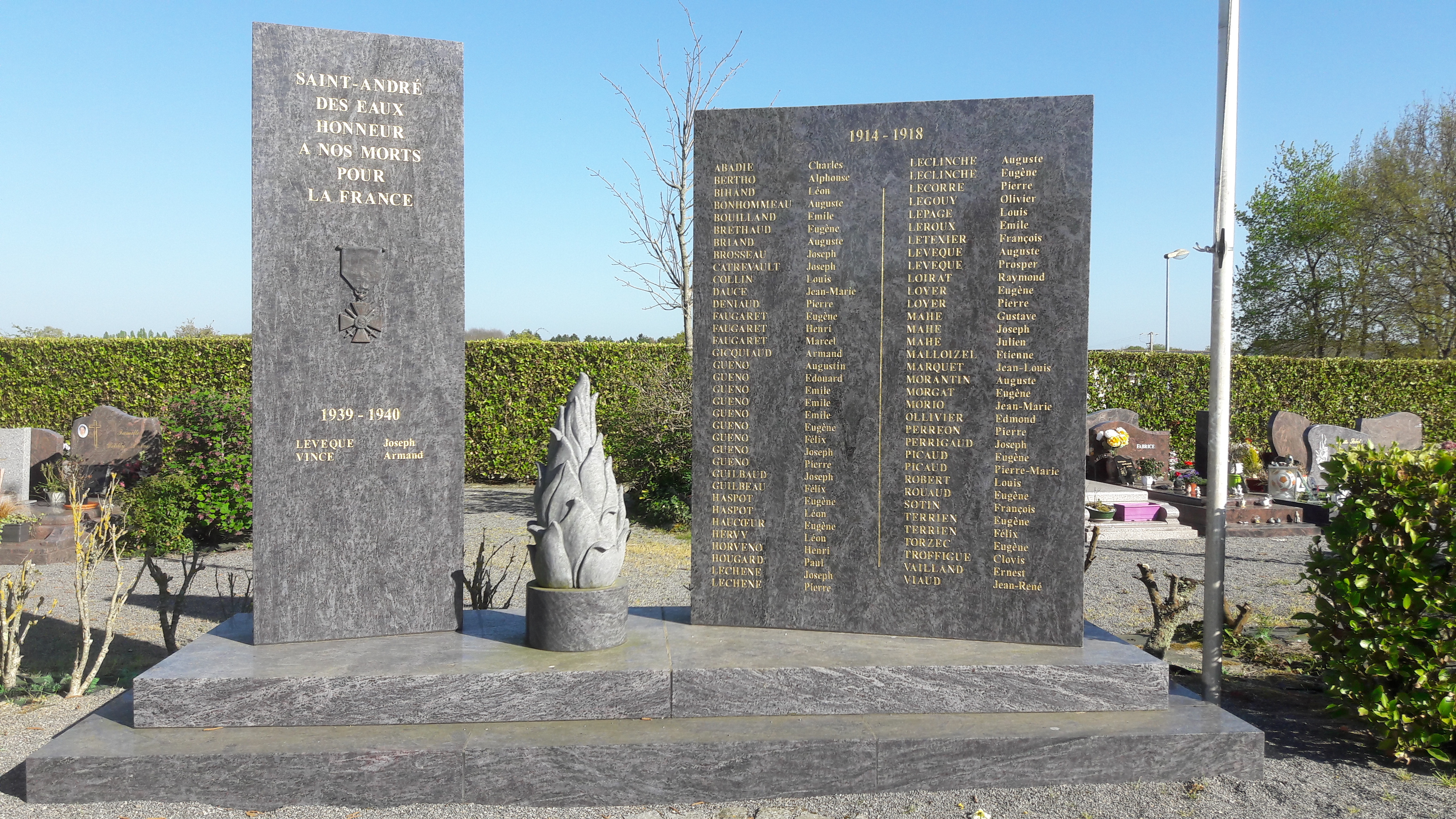 monument actuel