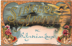 SINCERE AMITIE de ST-ANDRE-DES-EAUX - 1