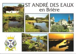ST_ANDRE_DES_EAUX_-_Commune_du_parc_régional_de_Brière._Chaumière,_la_chaussée_Neuve,_le_centre_du_b