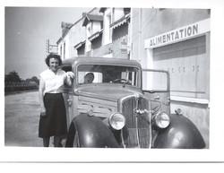 ALIMENTATION LEONIE GICQUIAUD JUILLET 1953