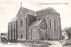 3 SAINT ANDRE des EAUX - L'Eglise